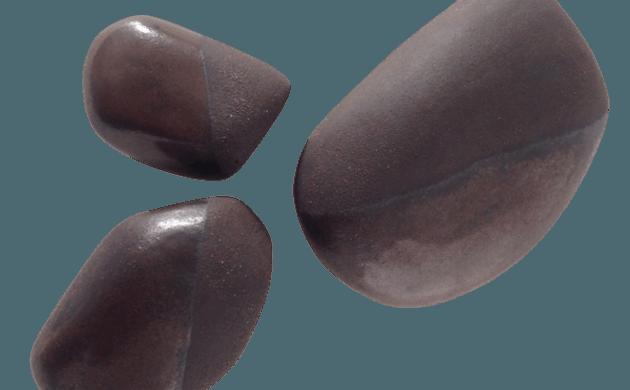 Cailloux en céramique