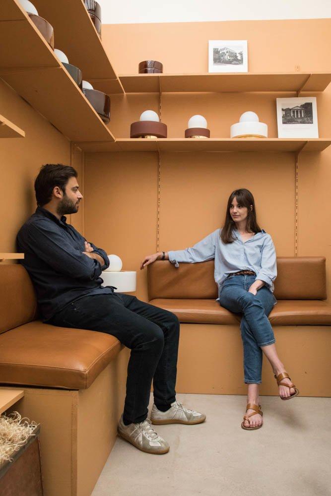 Portrait Cédric et Sophie créateurs Haos Appliques HAOS ET TSF