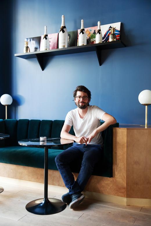 Arnaud Studer Portrait Propriétaire BAM Karaoké Parmentier Paris