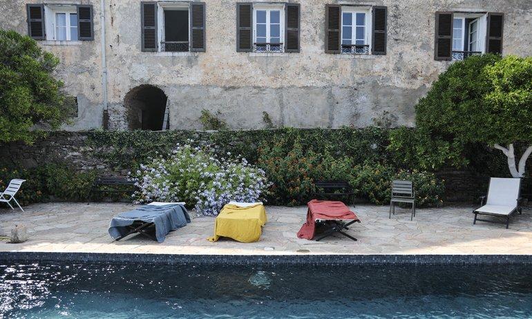 Piscine Jardin Couvent de Pozzo Brando