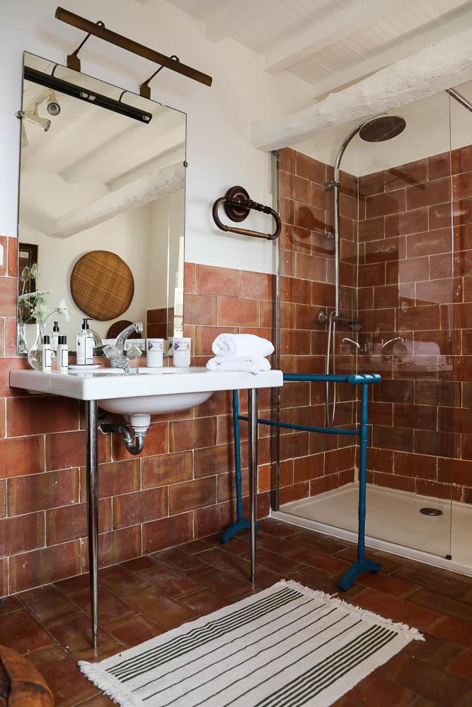 Salle de bain – Couvent de Pozzo