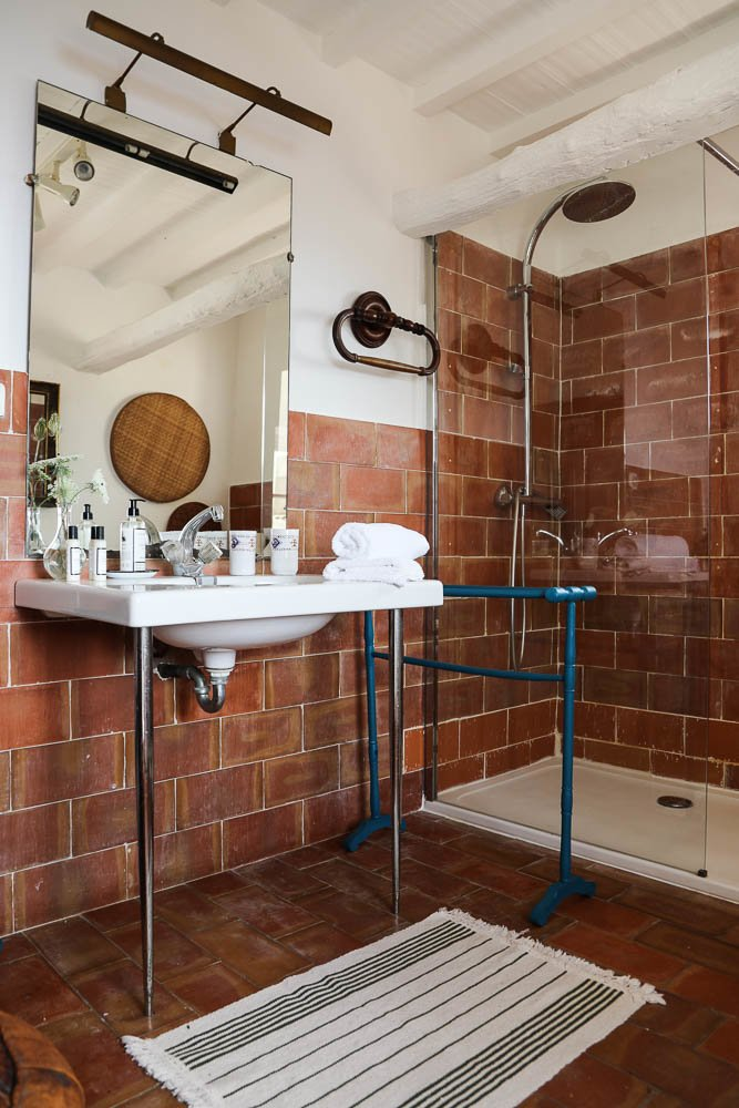 Salle de bain Carrelage Couvent de Pozzo Brando