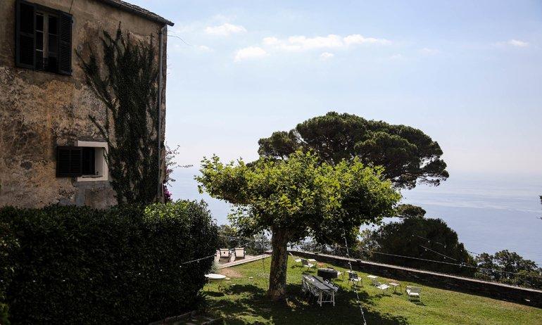 Jardin Vue Couvent de Pozzo Brando