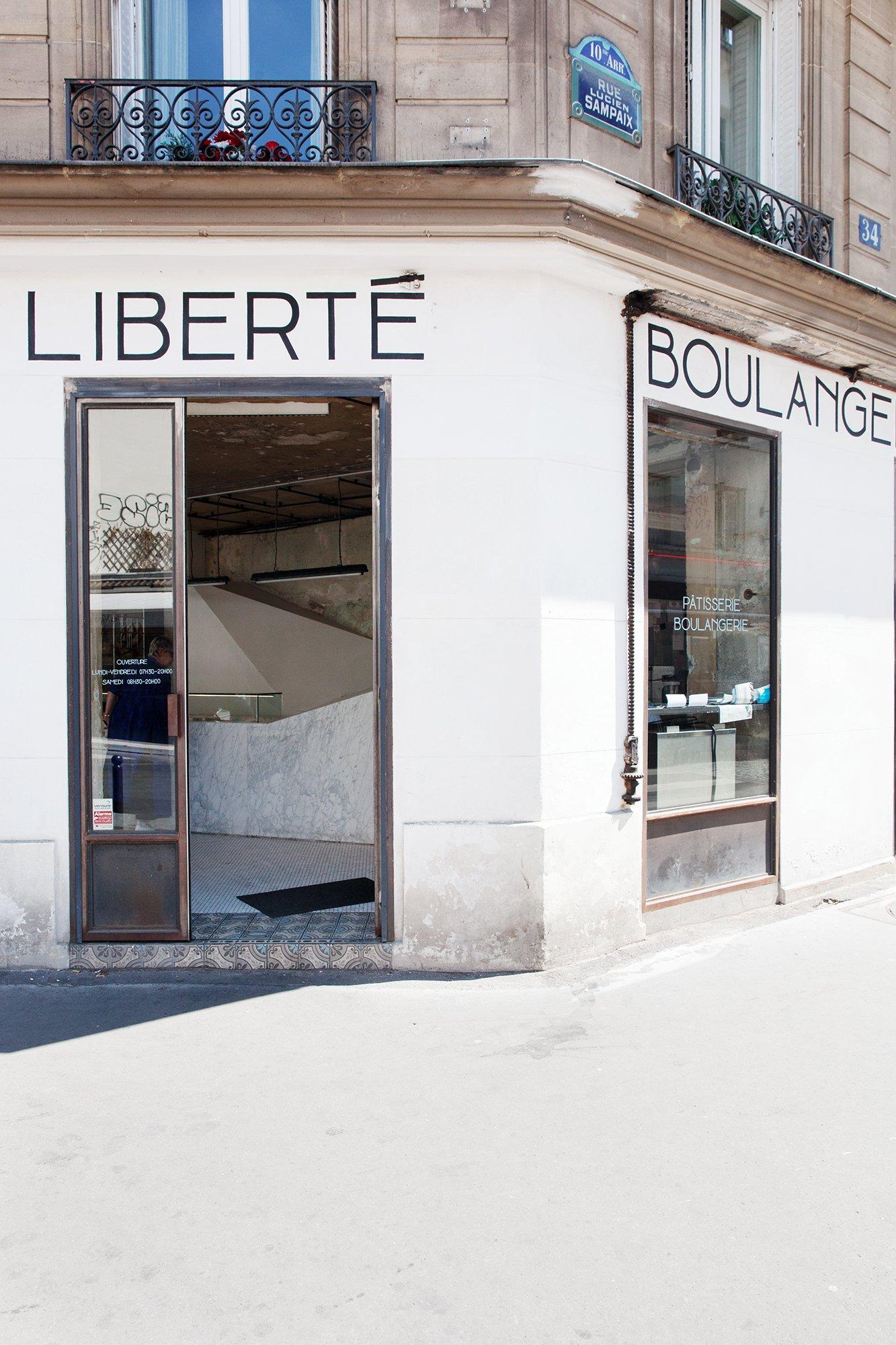 Façade Extérieure Liberté pâtisserie boulangerie Mickael Benichou