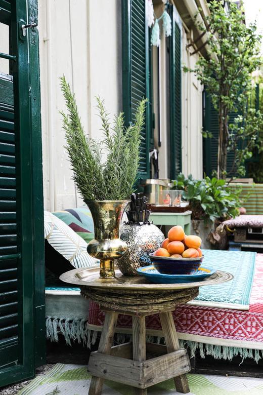 Terrasse Margherita Chiarva Appartement Milan