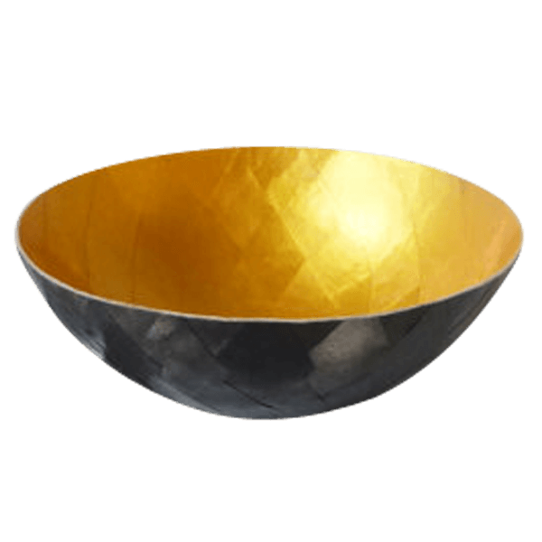 Black And Gold Bowl The Socialite Family