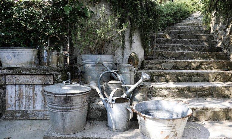 Jardin Arrosoirs Valdirose B&B Florence
