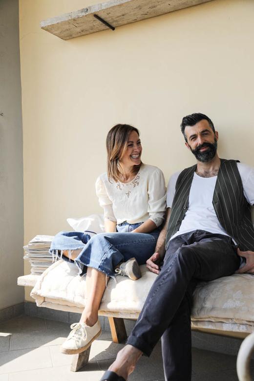 Irene et Paolo Valdirose B&B Florence