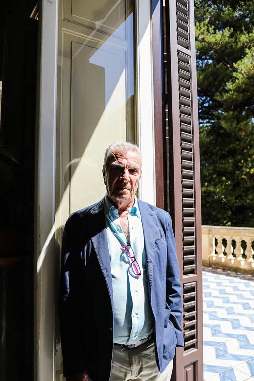 Lucio Mastrogiovanni Tasca Propriétaire Villa Tasca Palerme
