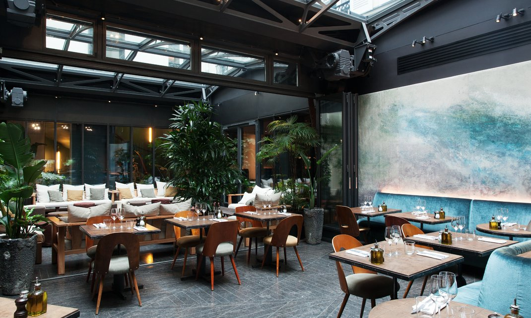 Hotel National Des Arts Et Metiers Restaurant