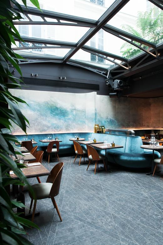 Salle restaurant bar - Hotel National des Arts et Metiers Paris