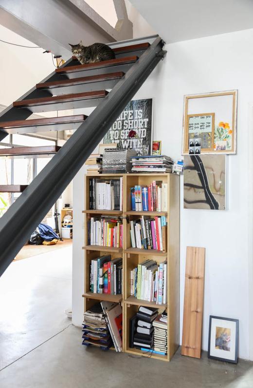 Livres Bibliothèque Studio Appartement Marc Morro Barcelone