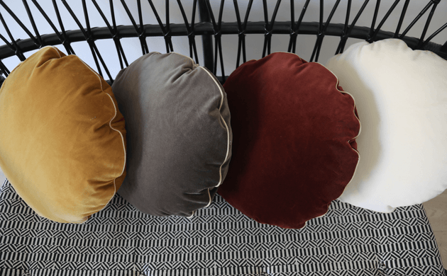 The Socialite Family&#8217;s New Collection <br> of Round Cushions