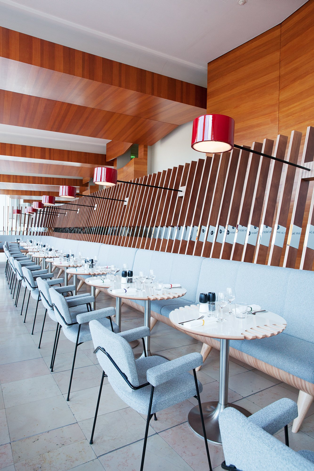 Salle De Restaurant Radioeat Maison De La Radio Paris