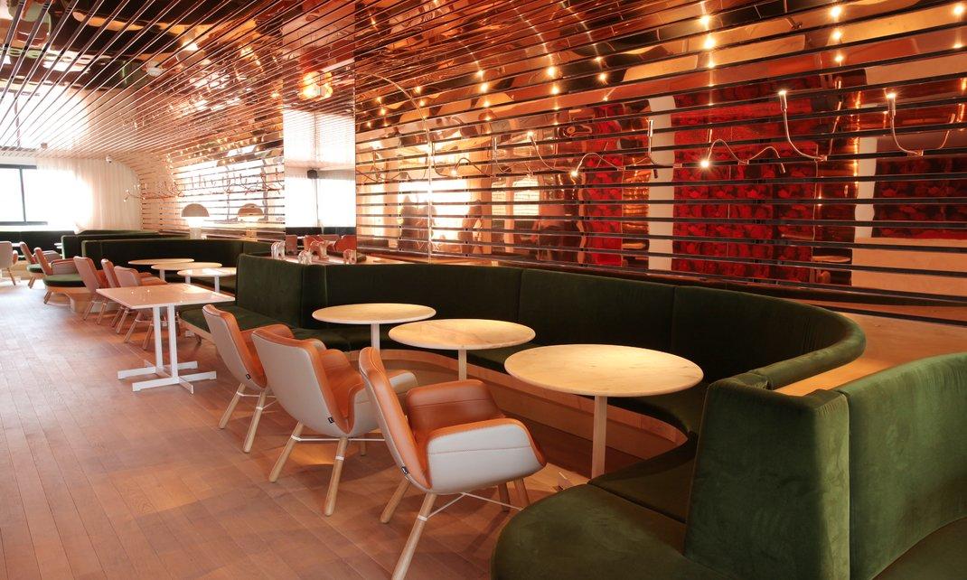 restaurant maison de la radio ventana blog. Black Bedroom Furniture Sets. Home Design Ideas