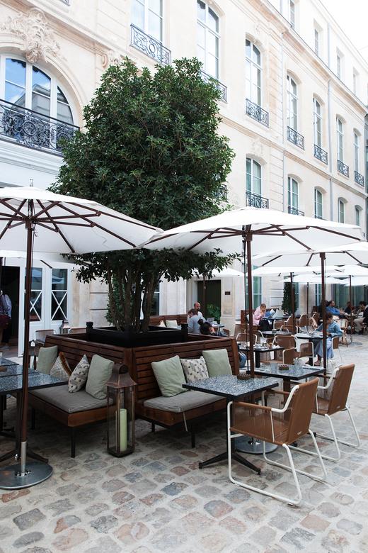Terrasse Hôtel Restaurant The Hoxton Paris
