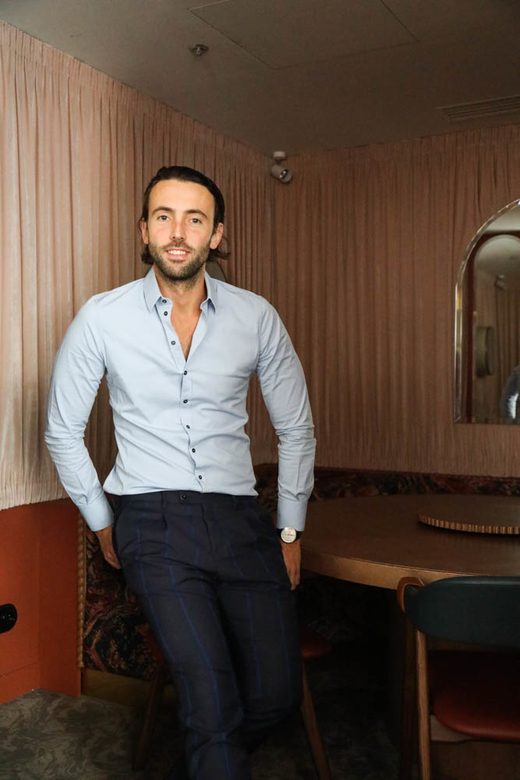 Portrait Olivier Bon Balagan Restaurant Expérimental Group Paris