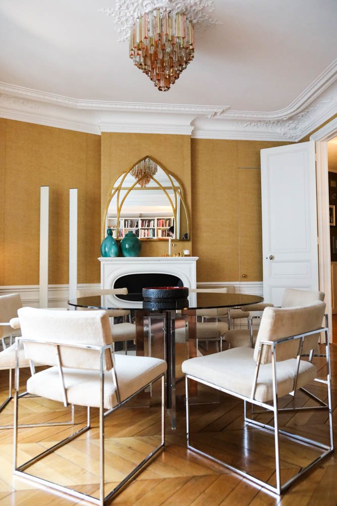 Salle a manger Appartement Paris Bertrand Waldbillig