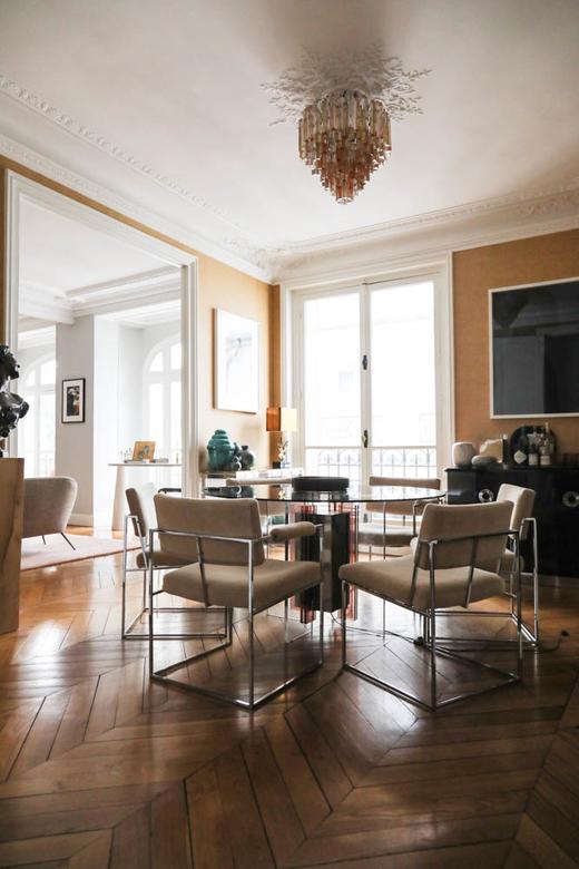 Salle à manger Appartement Bertrand Waldbillig Paris