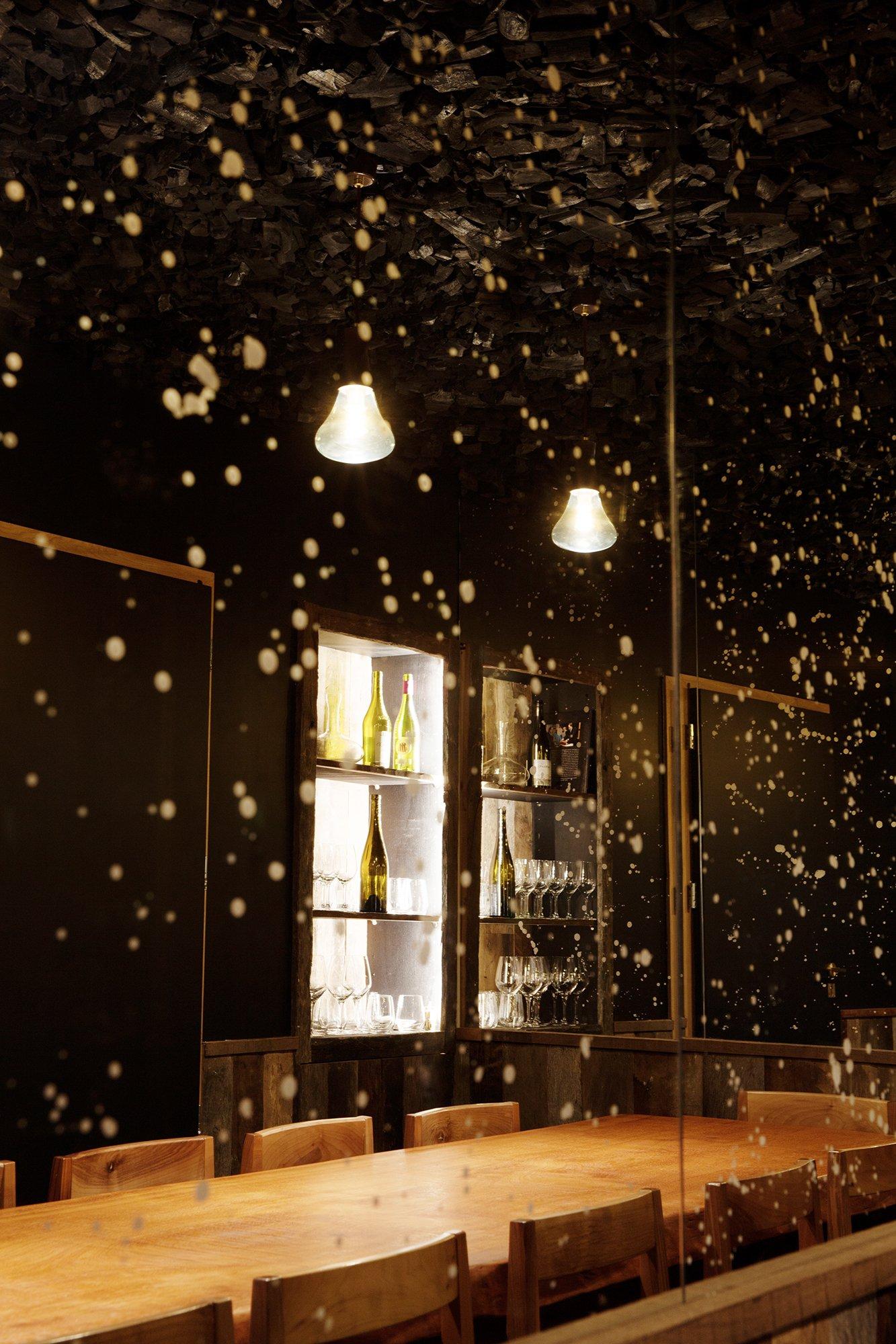 Miroir Salle secrète Bar Restaurant Carbón Paris