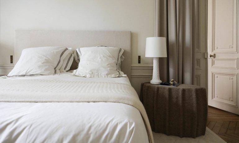 Chambre à coucher Parentale Dorothée Boissier Appartement Gilles & Boissier