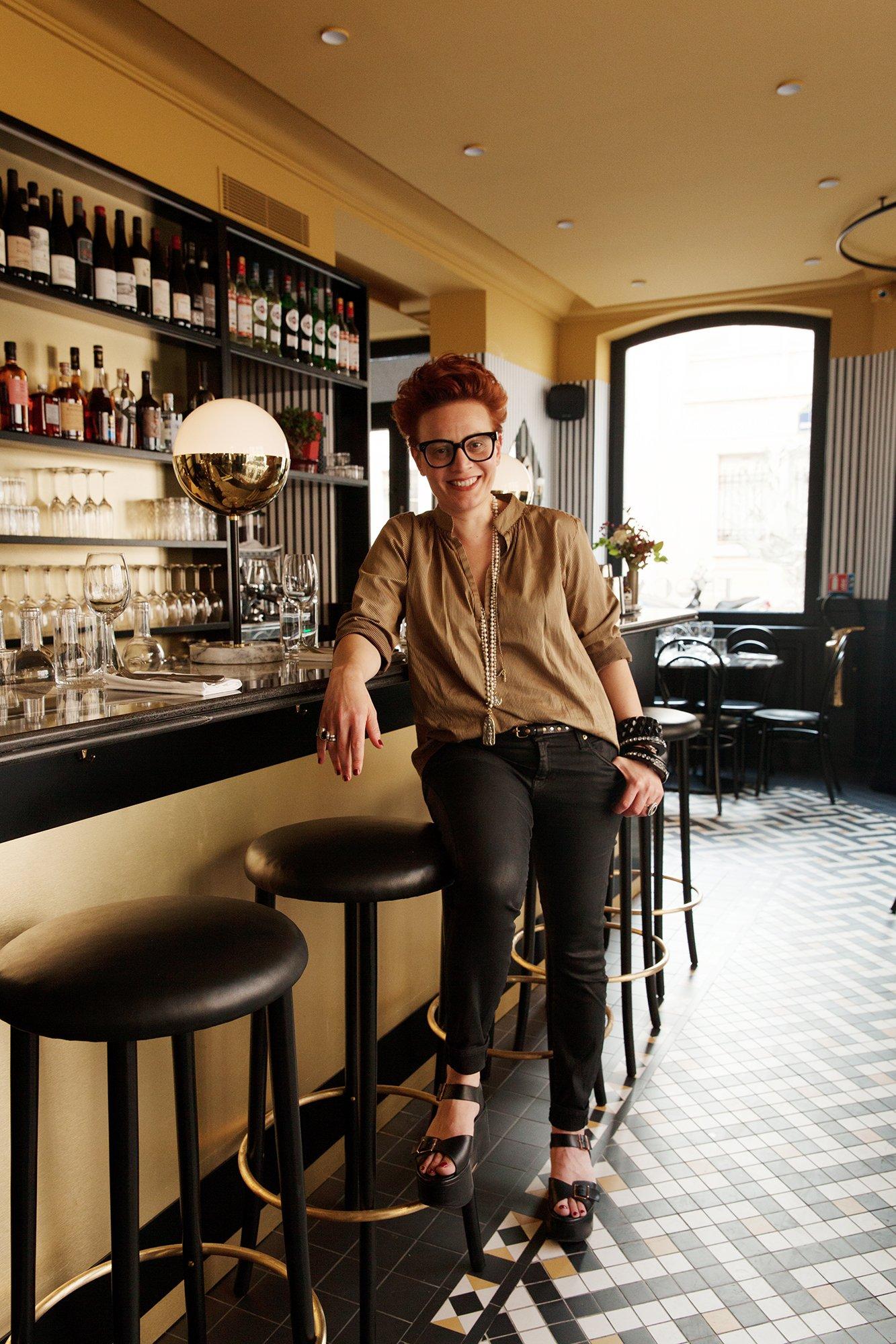Salle restaurant Portrait Emilie Bonaventure Epoca Denny Imbroisi