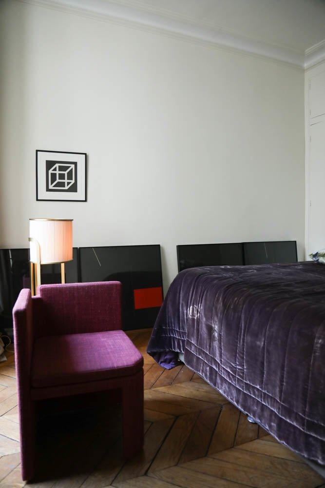 Chambre Marta Sala Appartement Paris Meuble Fauteuil Marta Sala Éditions