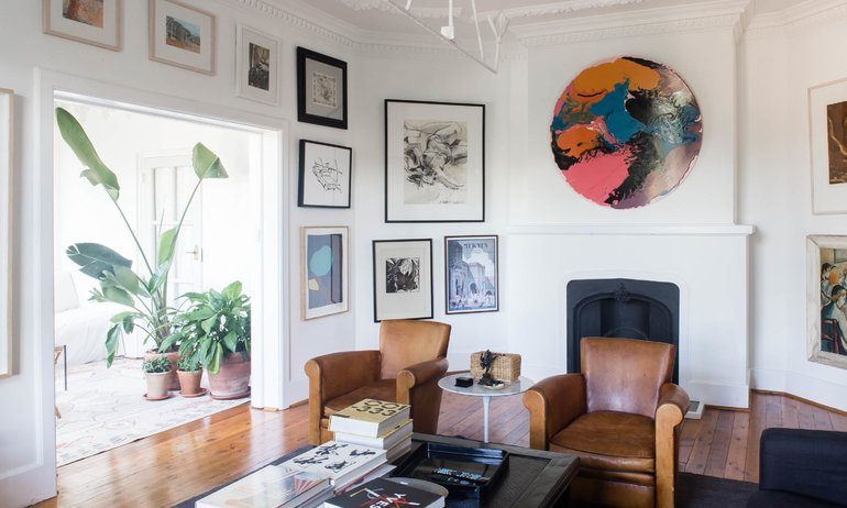 Salon Gillian Khaw Appartement Sydney I Own Australia's Best Home Handelsmann + Khaw
