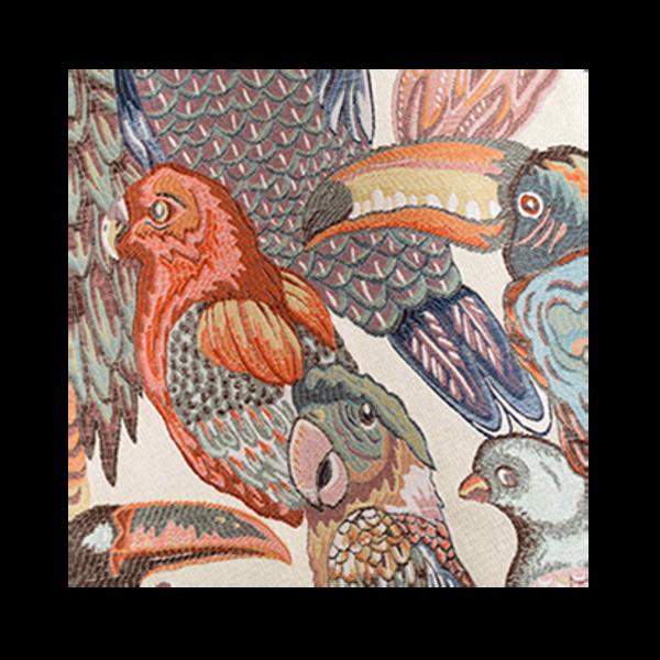 Jungle Birds Eyelet Curtain The Socialite Family