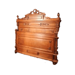 louis xvi headboard with pediment the socialite family. Black Bedroom Furniture Sets. Home Design Ideas