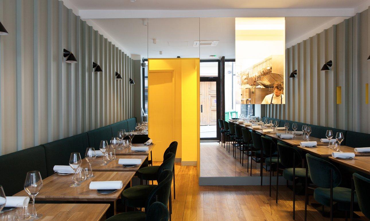 Salle restaurant Chef Indra Carillo La Condesa Paris