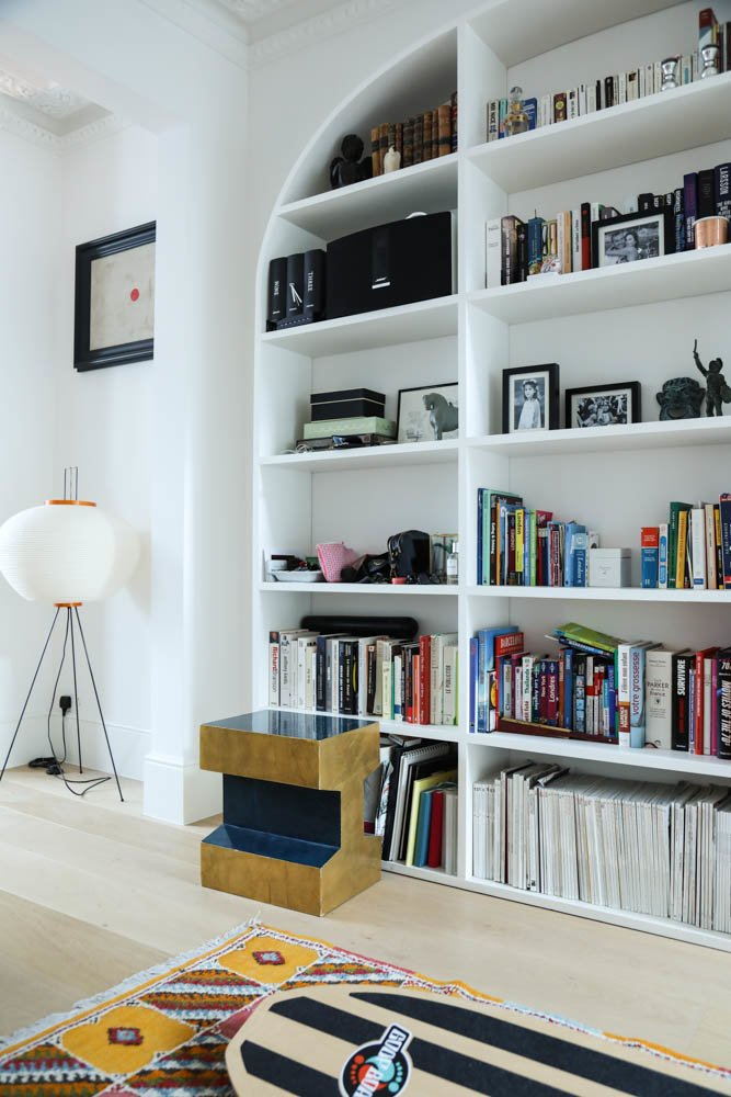 Bibliothèque livres gwendoline porte maison londres
