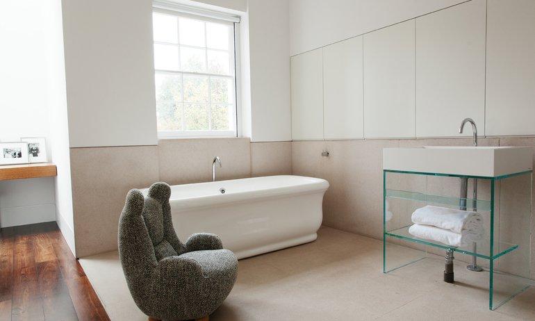 Salle de bain Maison Londres The Invisible Collection