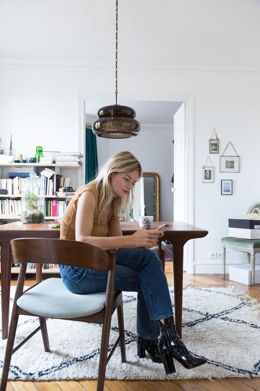 Portrait Salon Sabina Socol Appartement Paris