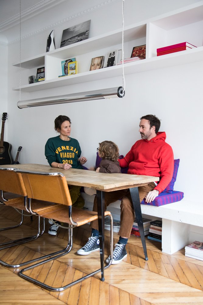 Anne-Fleur Broudehoux et Thierry Lebraly Salle à manger Roseanna Paris