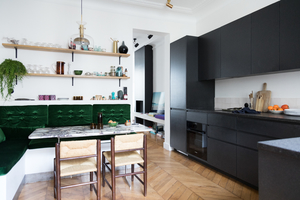 Anne-Fleur Broudehoux et Thierry Lebraly – Salle a manger
