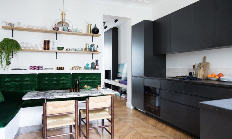 Anne-Fleur Broudehoux et Thierry Lebraly Salle à manger Cuisine Roseanna Paris