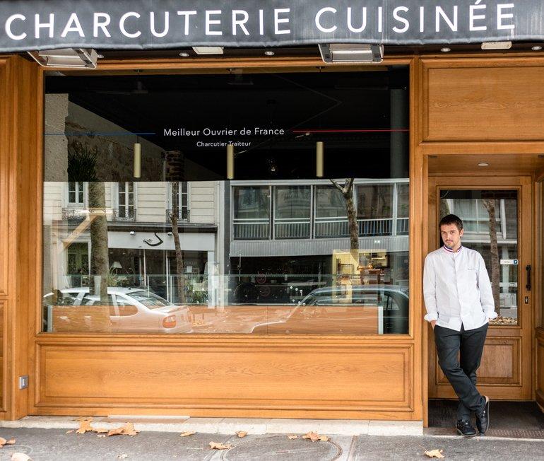 Arnaud Nicolas, la charcuterie cuisinée
