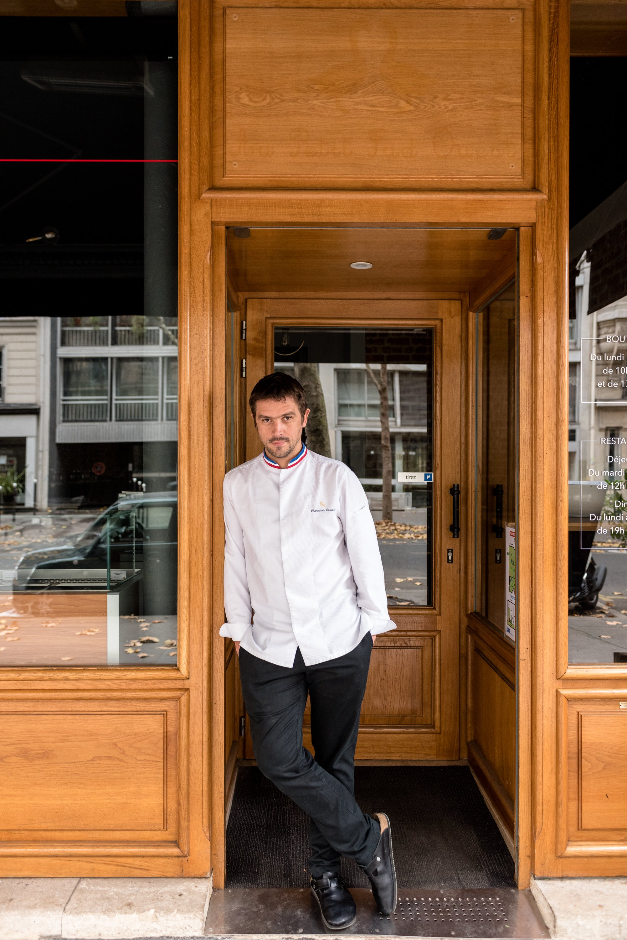 Boutique Restaurant Portrait Arnaud Nicolas