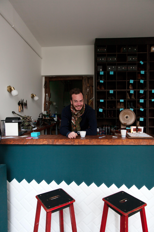 Atelier Desbois, a Modern <br> Cobbler's Shop