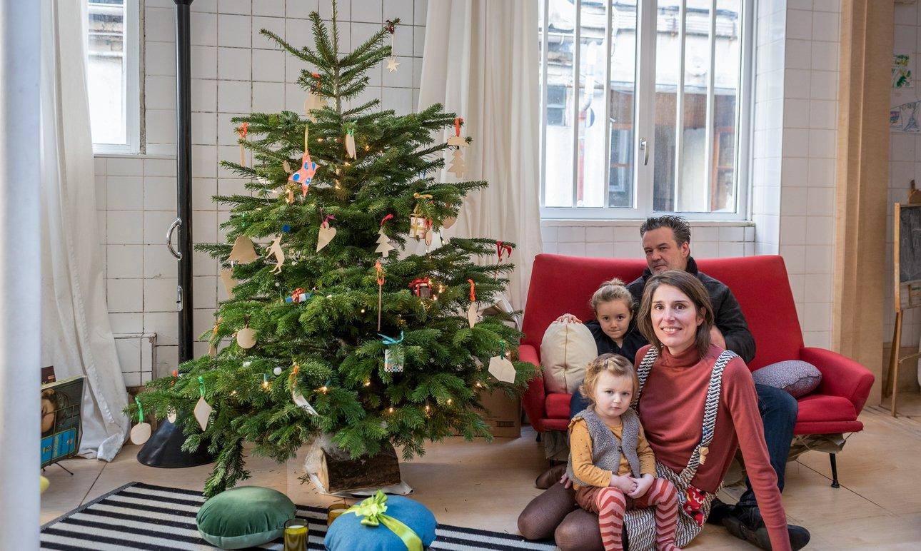Aurélie Rimbert et Guillaume, <br> Smilla 5 ans, Oona 1 an