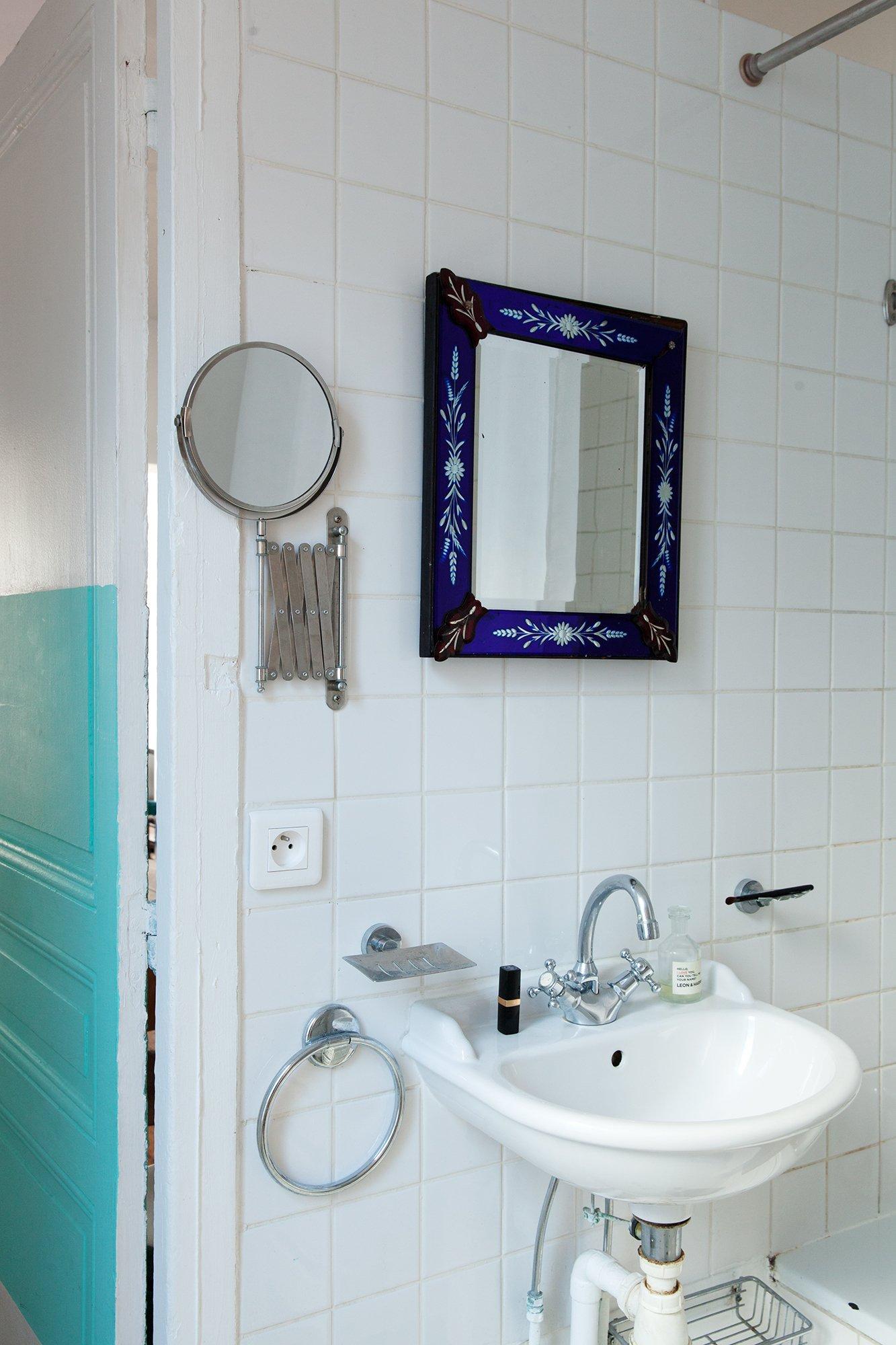 100 salle bain blanc turquoise d couvrez les belles for Faience salle de bain turquoise