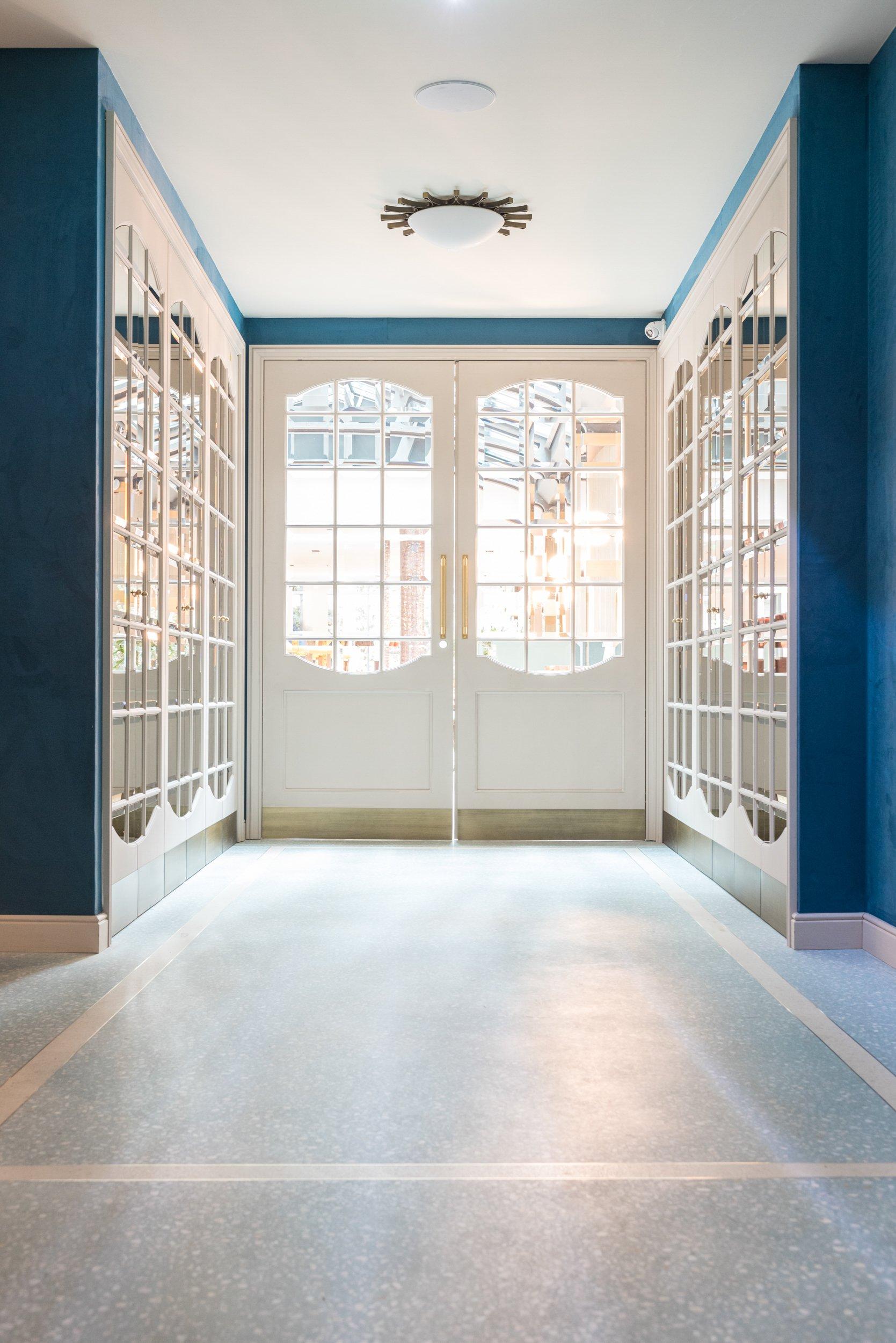 Entrée Hôtel Maison Bréguet Paris