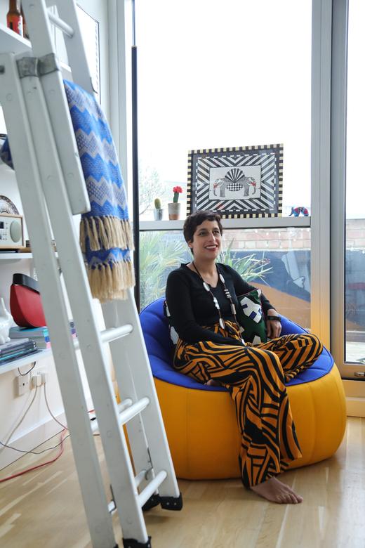 Appartement Loft Londres Portrait Malika Favre