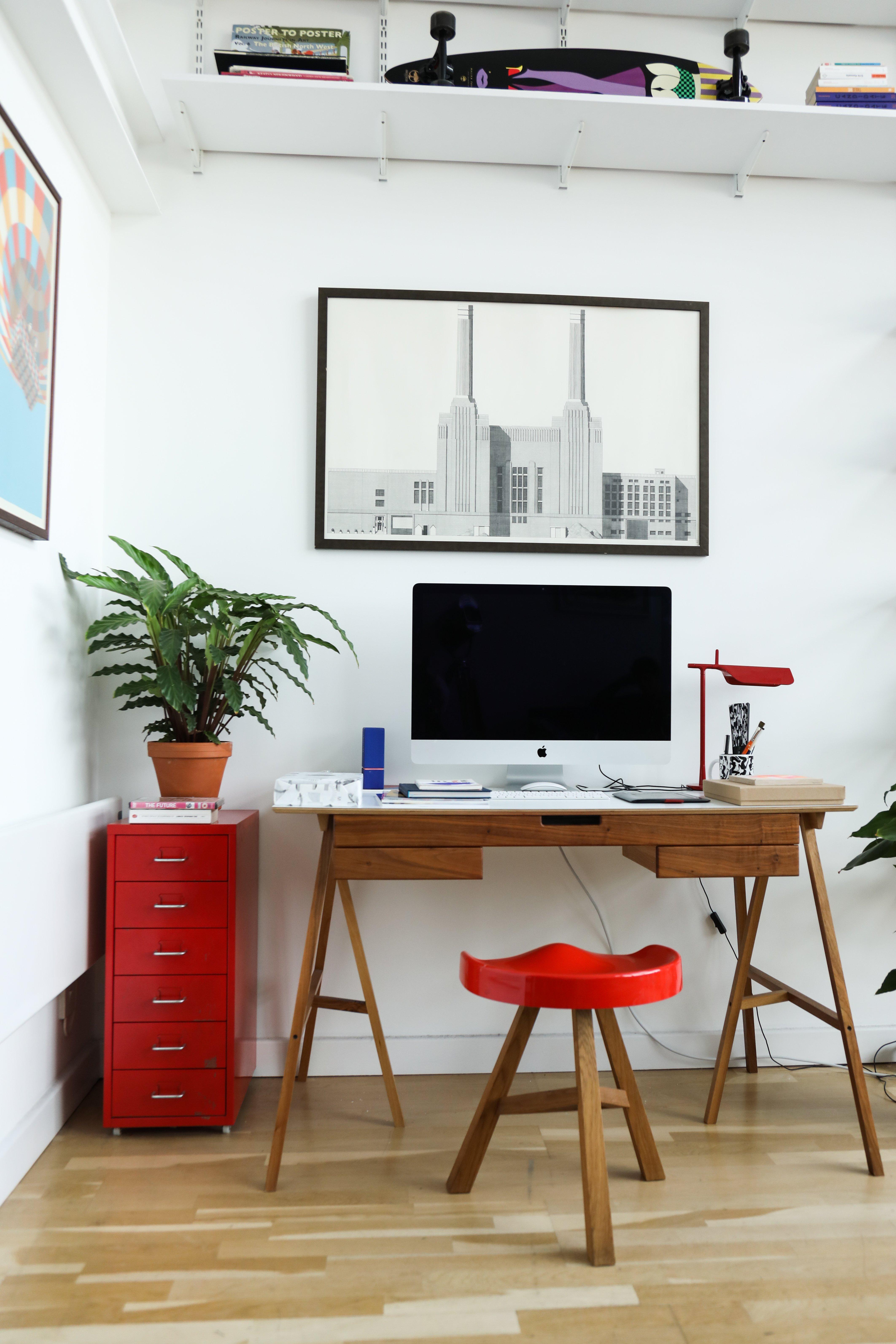 Salon Bureau Appartement Loft Londres Malika Favre