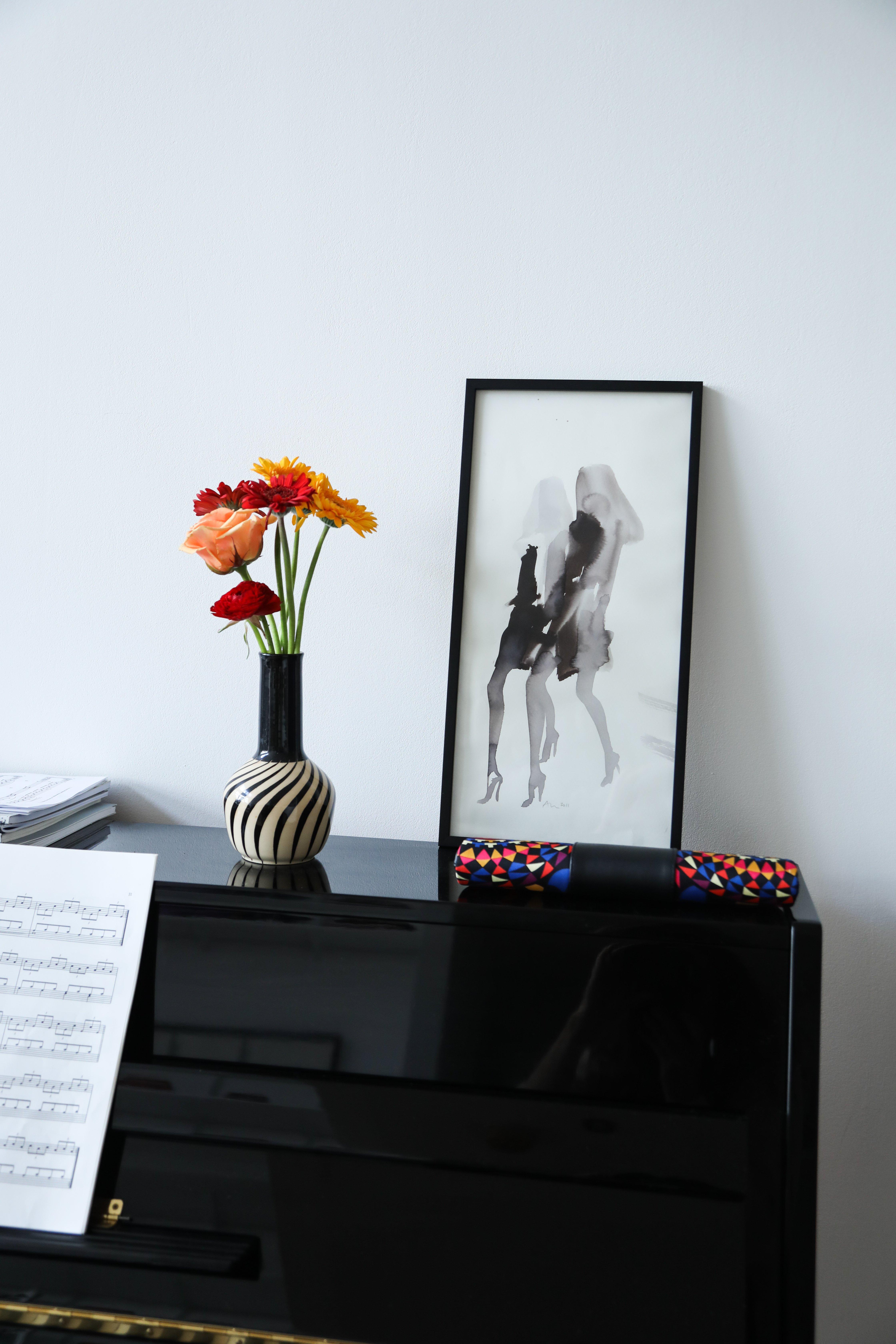Piano Salon Appartement Loft Londres Malika Favre