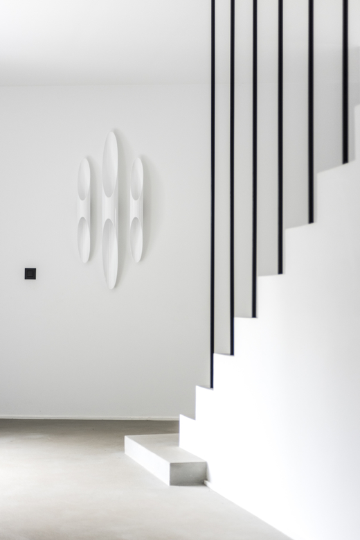Hall Entrée Appliques blanches Maison Cristina Balducci Belgique