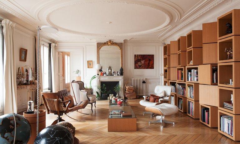 Salon Appartement Edwina de Charette Paris