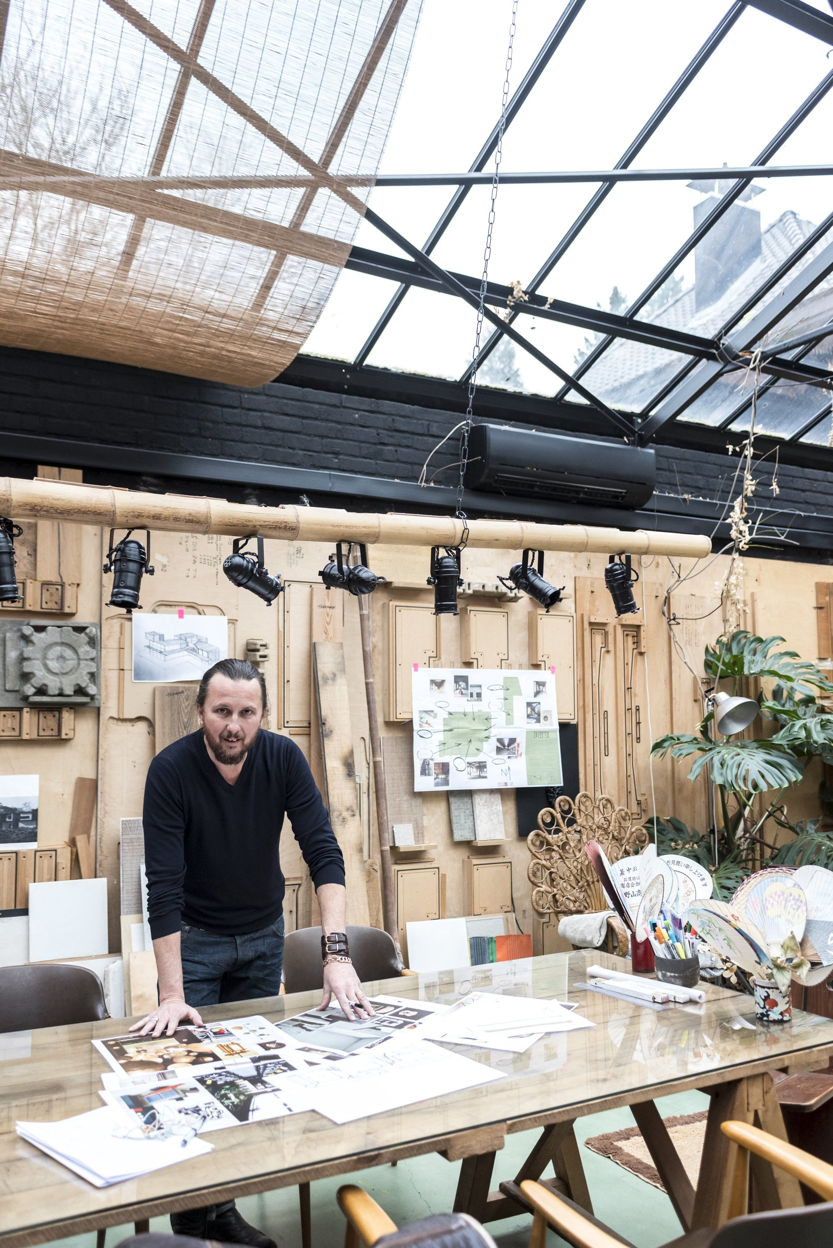 Portrait Bureau Atelier Lionel Jadot