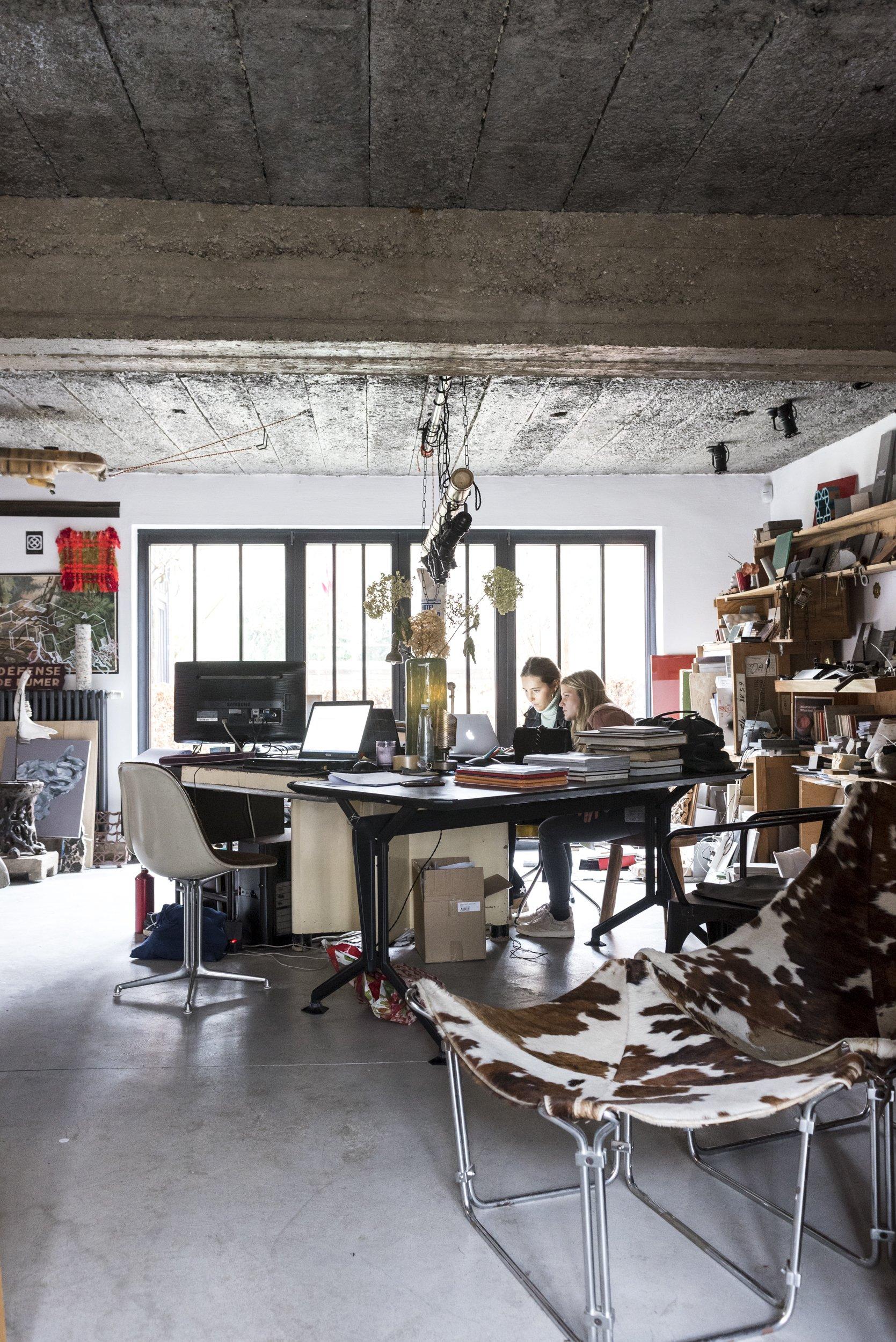 Bureau Équipe Atelier Lionel Jadot